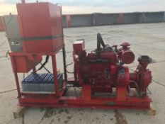 Iveco/Firedriver 85 4 cylinder Diesel Fire Pump