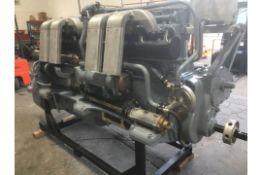 A Gardner 8L3B Reconditioned Marine Engine