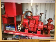 Iveco/Armstrong Skid Mounted Diesel Fire Pump