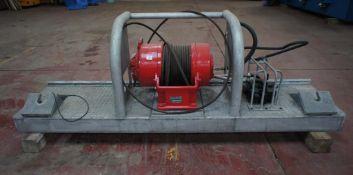 Gearmatic Model 22 SCR Hydraulic Winch