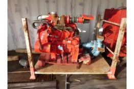 John Deere/Clarke Fire Pump