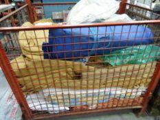 Stillage of assorted Storage Blankets