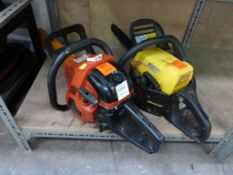 A McCulloch MAC538 Chainsaw and another Chainsaw