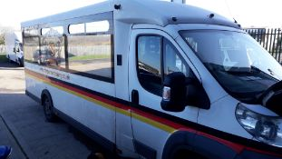 Fiat Ducato 40 Maxi 160 M-Jet Diesel Minibus Disabled Passenger Vehicle converted to a Mobile Retail