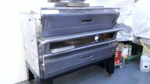 Heatrue Catering 3 Deck Electric Oven Model 898 410v