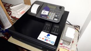 Casio SE5100 Cash Register with 2 x Miura Systems MO10-PROD10-V2-10 Mobile Pay Systems