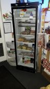 Prodis XD380 Single Glass Door Upright Display Fridge 240v (Contents not included)