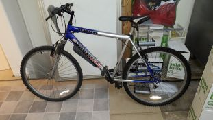 Harlem Rush Super Freeride 18 Speed Mountain Bike (item located upstairs)