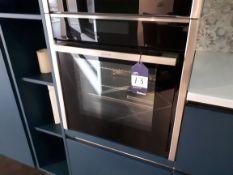 Neff B48FT38NOB Built In Slide and Hide Oven