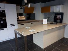 Schmidt Premium range display kitchen in Arcos Mix