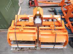 Sisis HRR/42 PT Scarifier/ Rotavator Tractor Mount.