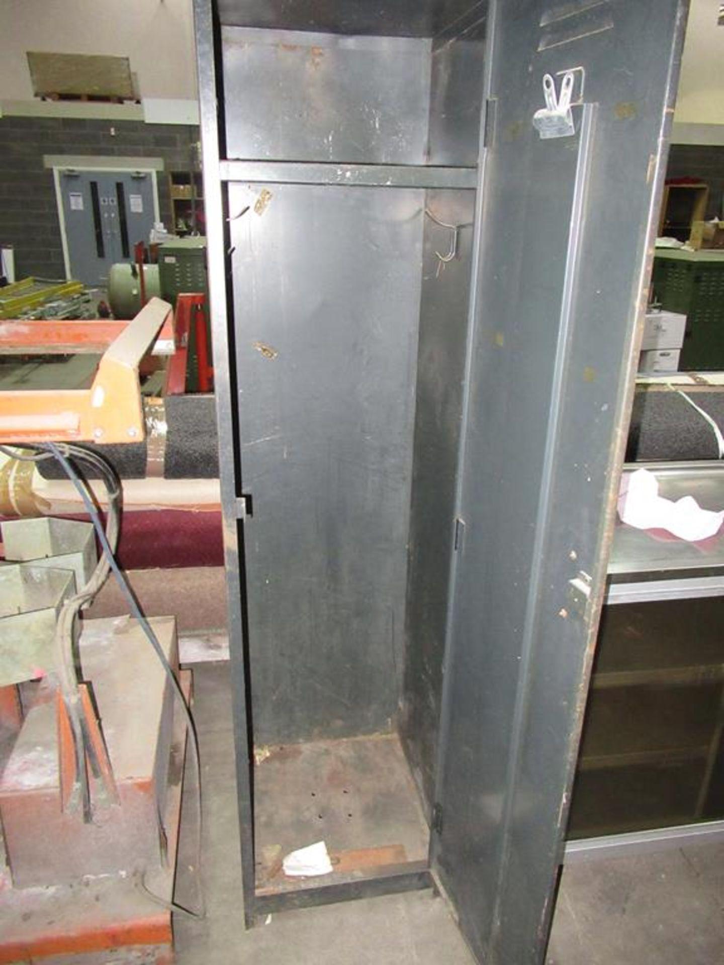 Lot 208 - An Engineers Cupboard