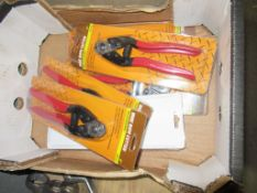 """6 x Professional 8"""" wire rope cutters"""
