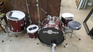 Various Drums, Pedals and Stands (a/f)