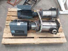 2x Grundfos Pumps