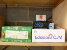 MCG Components Circuit Breakers and a Moeller Insulated Consumer Unit