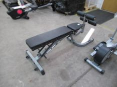A Body Solid Adjustable Bench