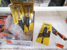 """4 x Chunky Contractor Tools 280mm/11"""" Plastering Trowels & 4 x Holden 6"""" Pointing Trowels"""