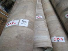 2 x Rolls of Vinyl Flooring