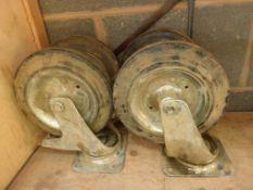 Swivel Heavy Duty Castor Wheels