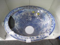 A Vintage Lavatory Bowl