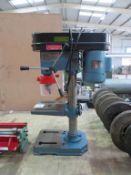 A Clarke Metal Worker Bench Mounted Pillar Drill