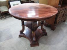 Swan Neck Centre Table