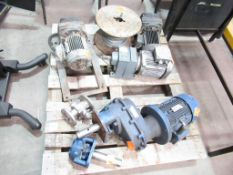 Various Motors/Gear Boxes and Wire Rope