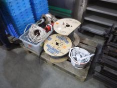 Pallet to contain various Cables, Door Closers