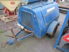 Hushed Power Diesel Compressor