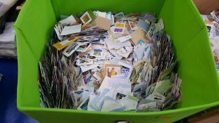 A Box of Mixed Stamps