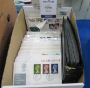 Box of First Day Covers (186)