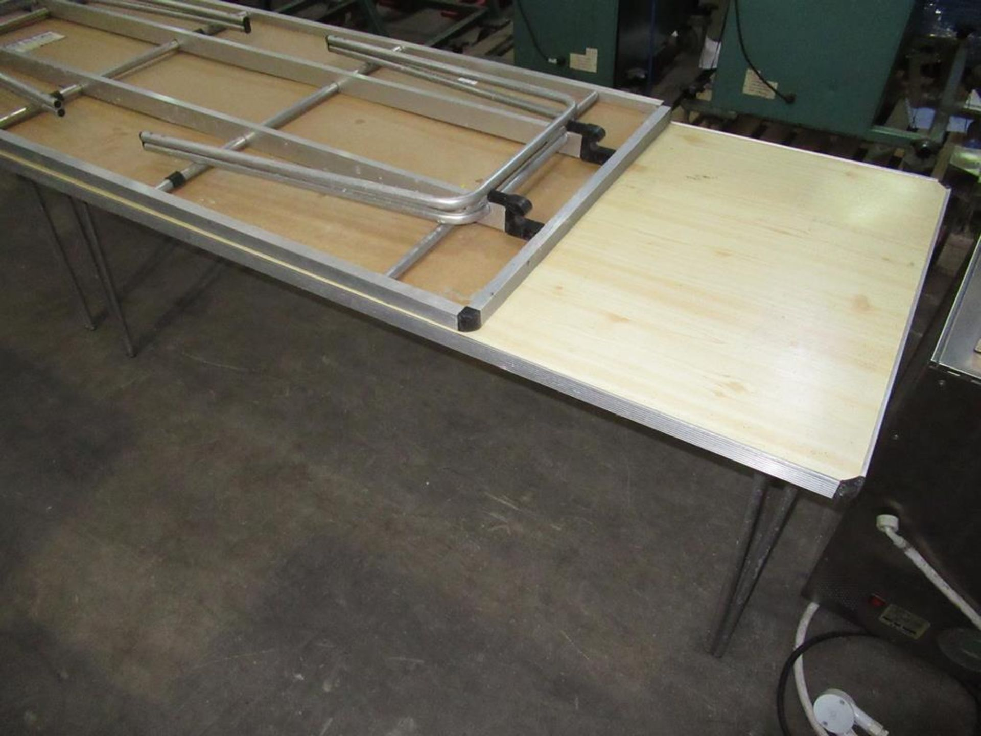 Lot 213 - 2 X Large Banquet Tables