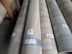 4 Rolls of Assorted Vinyl Flooring