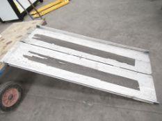 Stepless 325KG Aluminium Loading Ramps