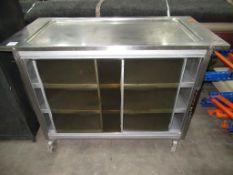 A S/Steel Hot Cupboard