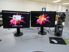 Mac Pro (Late 2013) Processor: 3.5GHz 6-Core Intel Xeon E5, Memory: 64GB 1866 MHz DDR3, Graphics AMD