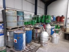 Approx. 16 pallets of Industrial Paint