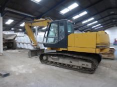 Case Poclain model 988 17 tonnes Tracked Excavator