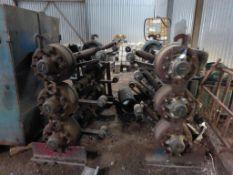6 Lorry axles