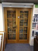 Double Doors to Display Area 1500x2100mm