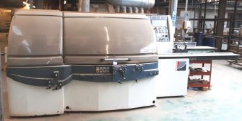 Paoloni Master 20045 5-head moulder, serial number 17073 (2005)