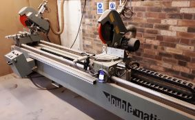 Doublematic 350 twin head mitre saw, serial number (2006)