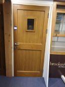 Single Door 900x2040 to Display Area