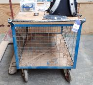 Hand hydraulic pallet truck, and Mobile cage trolley