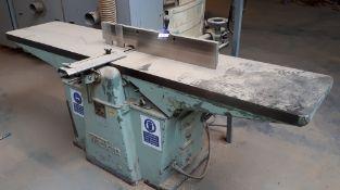 Wadkin surface planer, RZ 4055