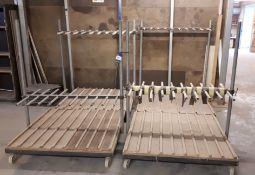 4 x Mobile racks