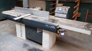 Paoloni PF530N surface planer, serial number 21342 (2008)