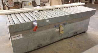 Finiture Ban 25 steel dust extraction sanding bench (2003)