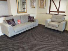Ibiza Large Sofa with Armchair